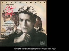 DAVID BOWIE 1978 - DAVID BOWIE NARRATES PROKOFIEV'S PETER AND THE WOLF