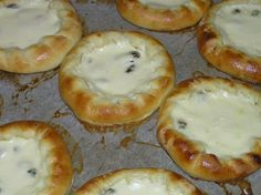 Finnish Recipes, Baking Recipes, Healthy Recipes, Healthy Food, Sweet Pastries, Creme Fraiche, Bagel, Camembert Cheese, Food And Drink