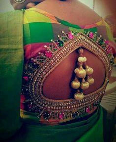Blouse designs for silk sarees top 21 25 simple silk saree blouse designs silk saree blouse back neck designs for saree blouse designs for weddings reshmi saree blouse designs … Pattu Saree Blouse Designs, Silk Saree Blouse Designs, Bridal Blouse Designs, Blouse Patterns, Embroidery Patterns, Hand Embroidery, Blouse Designs Catalogue, Latest Silk Sarees, Stylish Blouse Design