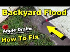 French drain how it works with 3 different materiels gardening how to drain low spot in yard do it yourself for homeowners better solutioingenieria Images