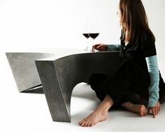 Design Couchtisch Greyment Aus Beton Mit Rollen | DIY | Pinterest |  Industrial And Indoor