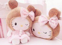 hello kitty, HK, and kawaii image Sanrio Hello Kitty, Hello Kitty Plush, Hello Kitty Items, Hello Kitty Wallpaper, Kawaii Wallpaper, All Things Cute, Girly Things, Cute Little Kittens, Kawaii Cute