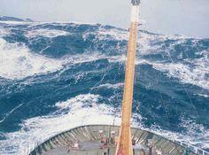 Ship in heavy sea / B.