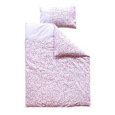 Bettwäsche Pink Blossom   - Maße: 135 x 200 cm und 80 x 80 cm - Material: 100 % Baumwolle - Maschinenwaschbar bis 30° C