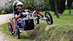 Swincar: um carro elétrico que é meio aranha, meio off-roader e totalmente incrível