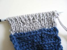 Double Knit Button Band Tutorial