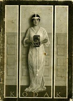 The Kodak Girl - Catalog Kodak 1915.... she should totally post that on facebook.