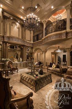 Living Room Space - Perla Lichi Design