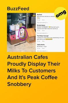 If it ain't Bonsoy, it ain't worth stopping. Coffee Snobs, Big Coffee, Aussie Food, Goat Milk, Barista, Bring It On, Display, Floor Space, Billboard