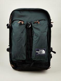 The North Face Men's Green Heritage Crevasse Backpack Backpack Travel Bag, Backpack For Teens, Travel Bags, Mens Designer Accessories, Bag Accessories, Samsonite Luggage, Backpacking Gear, Best Bags, My Bags