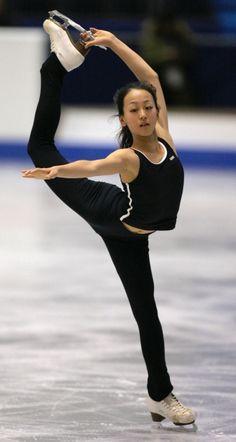 Mao, during Practice Runs - 2005 (GPF) Grand Prix Final .. Dec. 2005, Yoyogi Stadium, Tokyo.