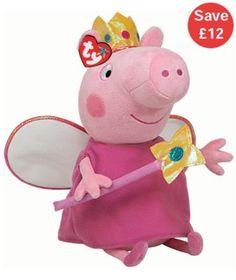 Cuddly Peppa Pig Toy £12.49