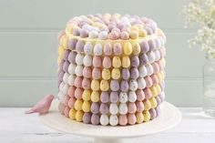 How to Make a Mini Easter Egg Cake #Easter #Baking YUM! this looks so divine! A bit fiddly but worth it for sure!!