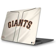 San Francisco Giants Home Jersey MacBook Skin. Shop now at www.skinit.com  #MLB #SanFrancisco #Giants #SFGiants #baseball #laptop #macbook #macbookskin #laptopskin