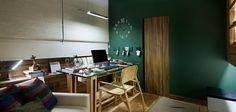 Ana Andrea Barra e Norma Guimarães cuidarão do espaço gourmet. Esse é um projeto de quarto de estudo.