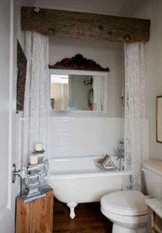 Love the headboard over the shower