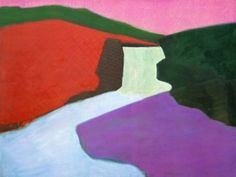 Red Rock Falls - Milton Avery - The Athenaeum