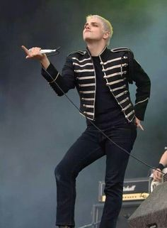 Gerard Way The Black Parade Era