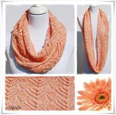 Strickanleitung Loop Gerbera / Knitting Pattern Cowl Gerbera