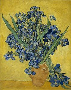 Vincent Van Gogh (1853-1890) - Iris, 1890  - Huile sur toile - 92,7 x 73,9 cm - Amsterdam, Van Gogh Museum - Photo : Van Gogh Museum