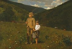 """Winslow Homer, """"Crossing the Pasture"""""""