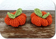 Crochet Pumpkin is featured in Awesome and Easy DIY Decor Crafts for Halloween – Feature Friday