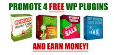 Promote this free offer and earn on the up- and downsells.  your customers will love you for sending them free WP Plugins :-) Product: WP header Code Injector  3 Bonus WP Plugins Platform: WSO Price:  F/E: FREE Up- and Downsells: from $2.49 up to $18.95 50% Commission More info & promo tools: Free WP Header Code Injection Plugin  3 Bonus Plugins