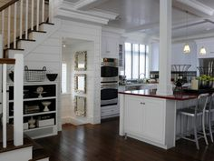 HGTV Green Home 2010 -- this kitchen lives in my dreams.