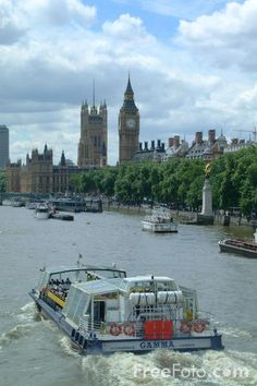 River Thames Cruise, London, England.  This is one of my favourite things to do when we visit London.