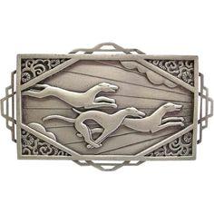 JJ Racing Greyhounds Dogs 1986 Jonette Jewelry