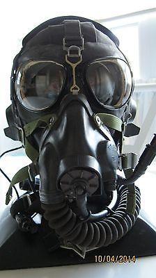 Original Soviet Mig-17 Leather Flight Helmet, Mask & Goggles