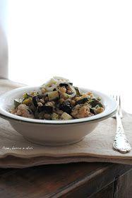 Pane, burro e alici: Insalata di farro con tonno e zucchine
