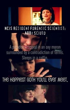 Love this description of Abby! // NCIS