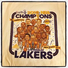 I want these Lakers back.