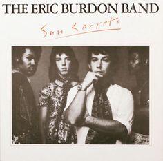The Eric Burdon Band Sun Secrets vinyl LP album original Near Mint condition