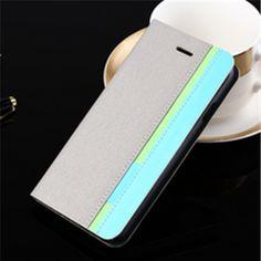 iPhone 6 Plus, 6 - Crisp, Smart Tri-Color Wallet Case in Assorted Colors - Thumbnail 2