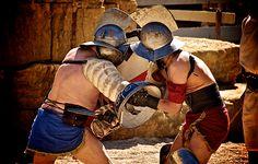 Lluita de Gladiadors. Tàrraco VIva. © Antoni Coll