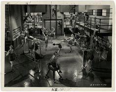 Vintage 1931 Palmy Days Pre-Code Chorus Girls Physical Culture Gym Photograph