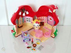 Sanrio Hello Kitty Dream World Mushroom Restaurant | #152771757 Hello Kitty Toys, Sanrio Hello Kitty, Barbie Sets, Kawaii Plush, All Things Cute, Care Bears, Little My, Plushies, Israel