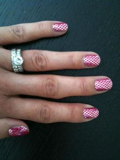 #JamberryNails have awesome #fishnetNail designs