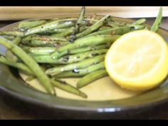 Delicious and Flavorful Green Beans Recipe | Side Dish Snack via DearNatural85 on YouTube