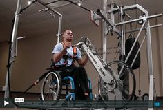 Wheelchair Fitness Solution gym for wc-users.  >>> See it. Believe it. Do it. Watch thousands of spinal cord injury videos at SPINALpedia.com
