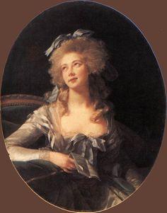 vigee+lebrun | Portrait of Madame Grand by Elisabeth Vigee-Lebrun, 1783