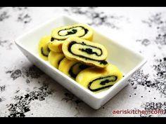 Aeri's Kitchen: Korean Rolled Egg with Dried Seaweed (Tamagoyaki w/ Nori)