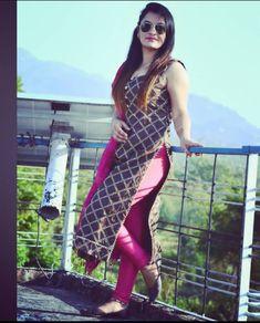 Desi Girl Image, Girls Image, Tight Dresses, Girls Dresses, Happy Hour Outfit, Punjabi Suits Party Wear, Patiala Suit, Jennifer Winget, Girl Hijab