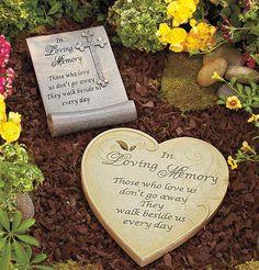 In Loving Memory Garden Stones