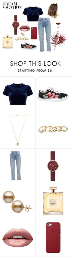 """**EMMA**"" by maduk on Polyvore featuring Vans, Vanessa Mooney, GUESS, Skagen, Huda Beauty e Apple"