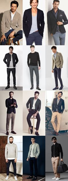 Men's Going Out Outfits Lookbook - Using Wardrobe Basics