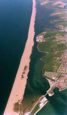 Chesil Beach is located on the South coast of England in the county of Dorset. It is a pebble beach 18 miles long and stretches north-west from Portland to West Bay. For much of its length it is separated from the mainland by an area of saline water called the Fleet Lagoon.