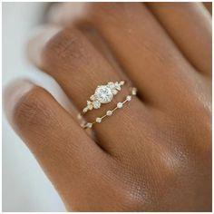 Beautiful Engagement Rings, Vintage Engagement Rings, Vintage Rings, Wedding Engagement, Indian Engagement Ring, Morganite Engagement, Wedding Rings Simple, Unique Rings, Boho Wedding Ring